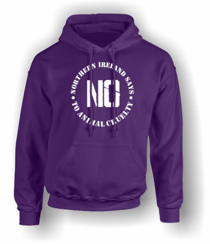 Northern Ireland Says NO To Animal Cruelty (#1) Hoodie (Adult)
