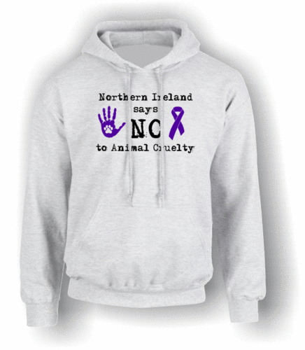 Northern Ireland Says NO To Animal Cruelty (#2) Hoodie (Adult)