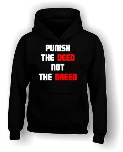 Punish The Deed Not The Breed - Hoodie - Kids