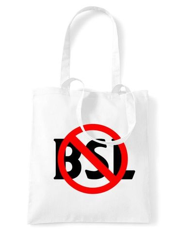 End BSL Sign - Tote Bag