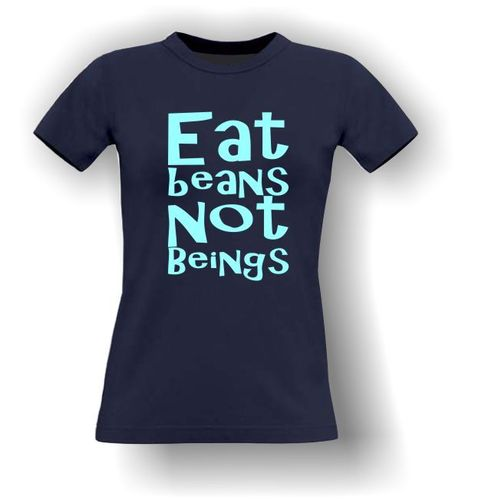 Eat Beans Not Beings - Vegan T-Shirt - Adult